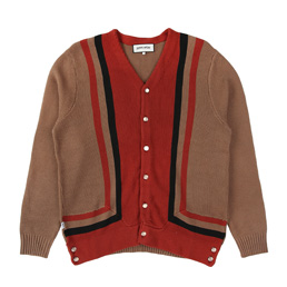 FA Reader Cardigan Brown