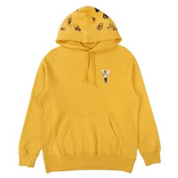 FA Pinwheel Hoodie Mustard