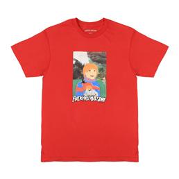 FA Painted Aidan T-Shirt Red