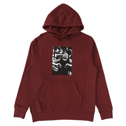 FA Scream Hood Maroon