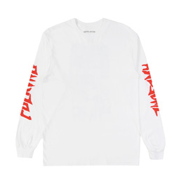 FA Collage L/S T-Shirt White