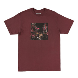 FA Neon Nights T-Shirt Maroon