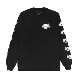 FA Box Wings L/S Tee - Black