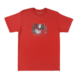FA Spider Tee - Scarlet Red