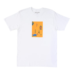 FA World Dill Painting Tee - White