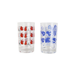 FA Juice Glass Set - Glass