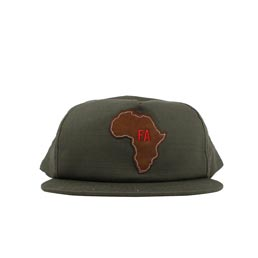 Fucking Awesome Africa Hat Military Green