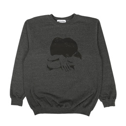 FN Awesome Embrace Crew Grey