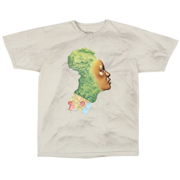 FN Awesome NAK Mother Africa Tee White