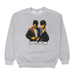 FN Awesome Brothers Crewneck Grey