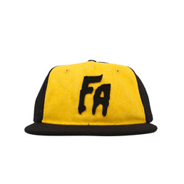 FN Awesome Classic FA Hat Black/Yellow
