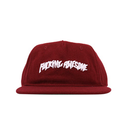 FN Awesome Classic Logo Hat Burgundy