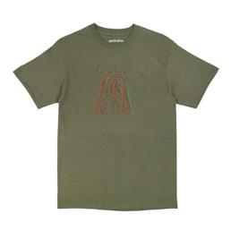 FA Too High T-Shirt Green