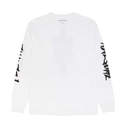 FA KB Collage L/S T-Shirt White