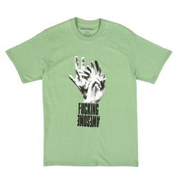 FA Fingers T-Shirt Green