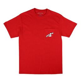 FA Cig Man Pocket T-Shirt Cadinal