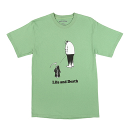 FA Life And Death T-Shirt Dill Green