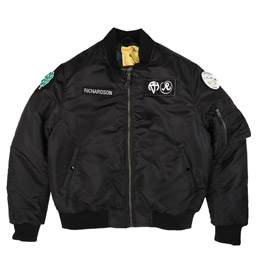 Richardson Reversible MA-1 Jacket Black