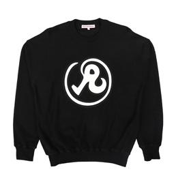 Richardson Reverse Terry Glyph Sweater Black