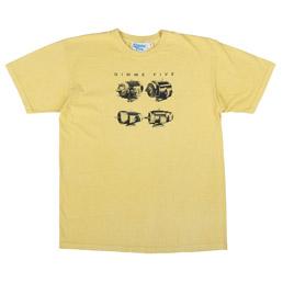 Gimme 5 Heads T-Shirt Yellow