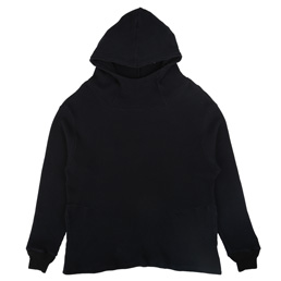 Gimme 5 Side Pocket Waffle Felt Hoody - Navy/Off W