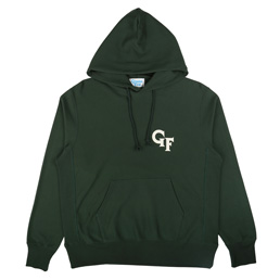 Gimme 5 Felt Hoody - Green/Off Whitre