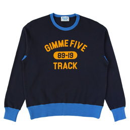 Gimme 5 2 Tone Sweat Navy