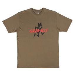 Gramicci Logo T-Shirt Ash Brown