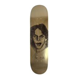 Hockey Kasso Metallic Gold Deck 8.25""