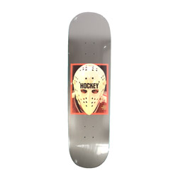 Hockey Eyes Without A Face Gun Metal Deck 8.5""