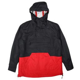 CDG Homme Rain Parka Navy/ Red