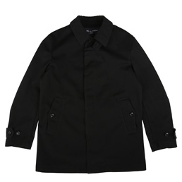 CDG Homme Nylon Coat Dress Black