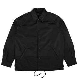 CDG Homme Nylon Coach Jacket Black