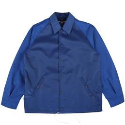 CDG Homme Nylon CDGH Coach Jacket Blue