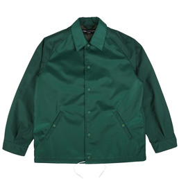 CDG Homme Nylon CDGH Coach Jacket Green
