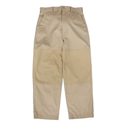 CDG Homme Knee Patch Chino Pant Beige