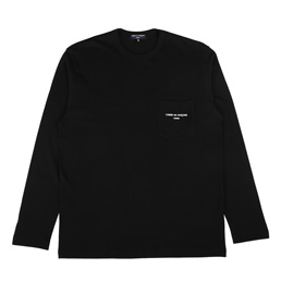 CDG Homme Pocket T-Shirt Black