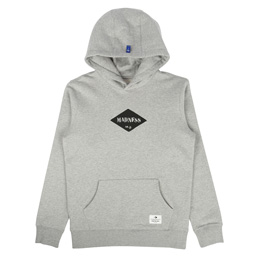 Madness Print Hoodie Heather Grey