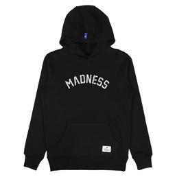Madness Print Hoodie Black