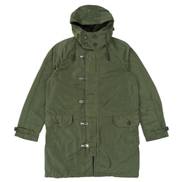 CDGH Polyester Twill Dyed Jacket - Khaki