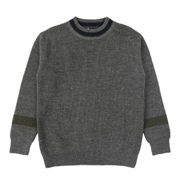 CDGH Wool Mix x half Cardigan StitchxJers.-Grey