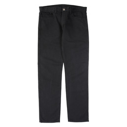 CDGH Cotton Knit-Like Denim Treated Pant- Black