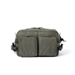 Head Porter New Waist Bag - Olive