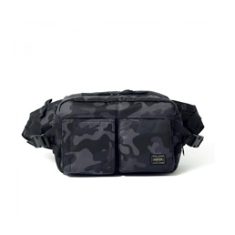 Head Porter New Waist Bag- Black