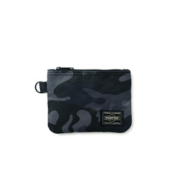Head Porter Zip Wallet- Black