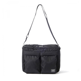 Head Porter Shoulder Bag (L) - Black
