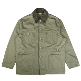 CDG Homme 4 Pocket Work Jacket Khaki