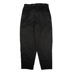 CDG Homme Wide Leg Work Pant Black