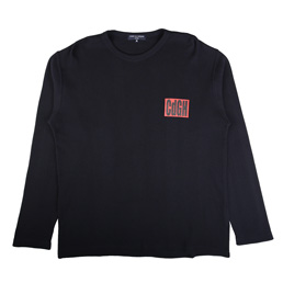 CDG Homme L/S T-Shirt Navy