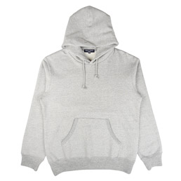CDG Homme Pullover Hooded Sweatshirt Grey